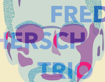 Folly Jazz Poster (Fred Hersch Trio)