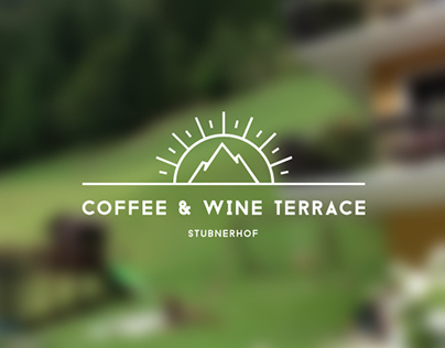 Coffee & Wine Terrace Stubnerhof - Corporate Identity