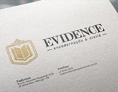 EVIDENCE Encadernação