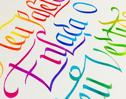 Calligraphy Collab II