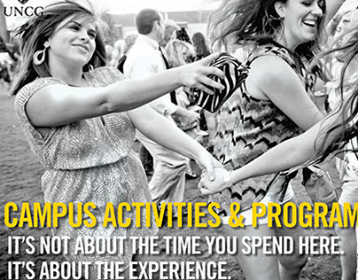 Campus Activities & Programs Marketing