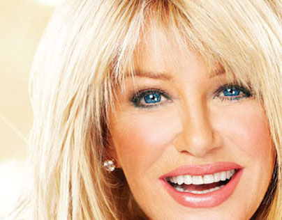 Suzanne Somers event gaphics