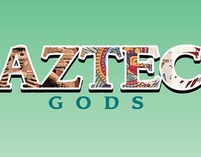 Aztec Kawaii Gods