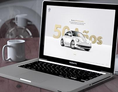 Beetle 50 Website