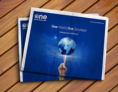 Ad Campaign :: One World, One Solution!