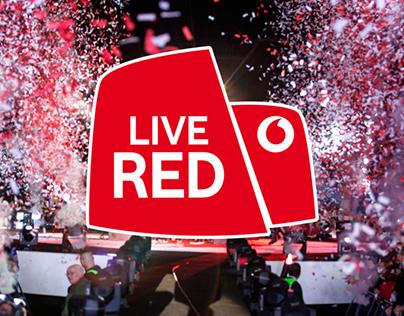 Vodafone   Live Red