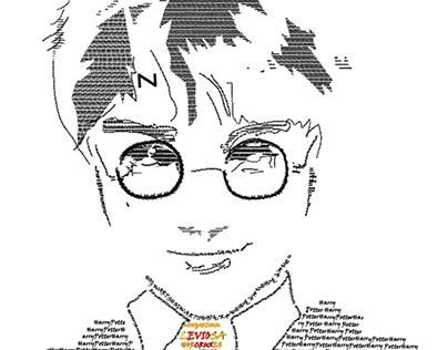 Typography Harry Potter