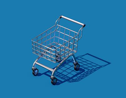 Race Shopping Cart