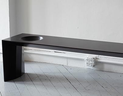 Bowl Bench (Wood)