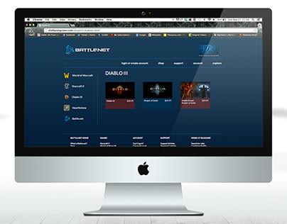Battle.net Interactive Sequence