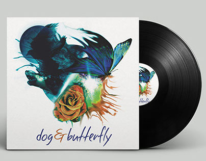 Dog & Butterfly