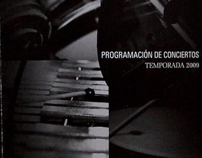 LIBRO Temporada de Conciertos 2009 OFB