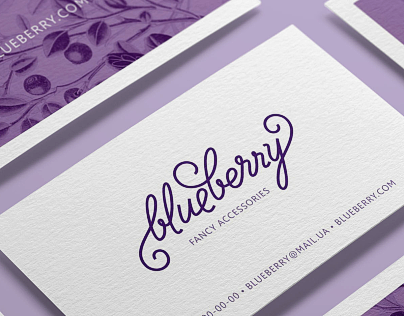 Blueberry — fancy accessories