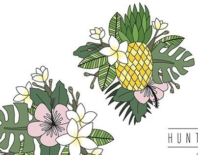 HSS Floral Logo
