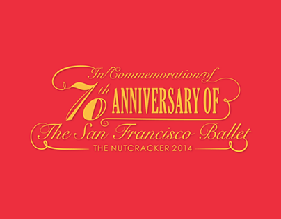 70th Anniversary of The SF Ballet /Mock-up/