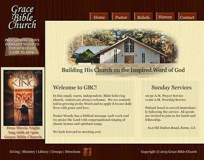 Church Website Makeover