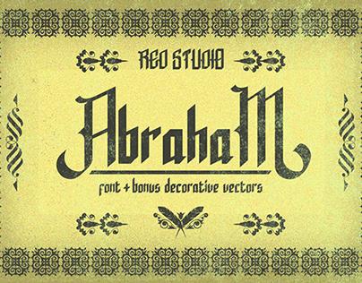 Abraham Typeface