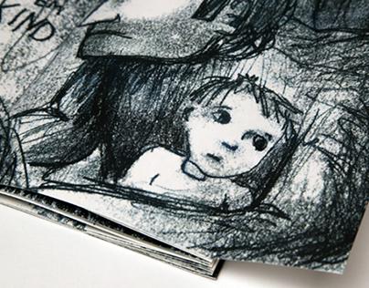 """Book Illustration """"Der Erlkönig - Goethe"""""""