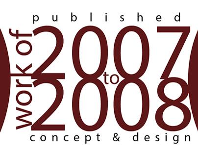 design WORK OF 2007-2008