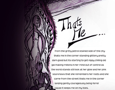 That's Me - poem illustration