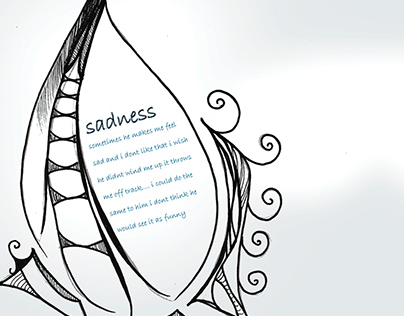 Sadness Poem Illustration