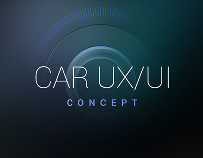 Car UX/UI Concept