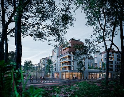 Residential building in Rueil-Malmaison