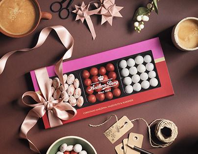 Anthon Berg – Christmas Packaging