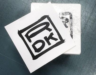 Robert D. Karns New Logo and Business Card