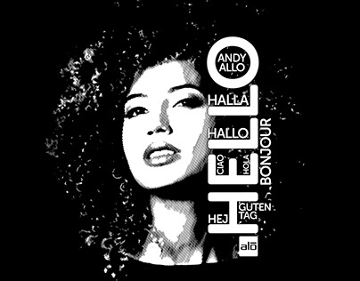 Andy Allo 2015 Hello Tour T-shirt