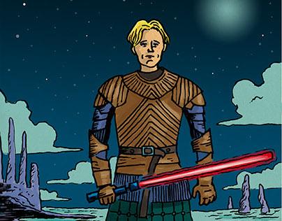 Darth Brienne (Star Wars vs Game of Thrones)