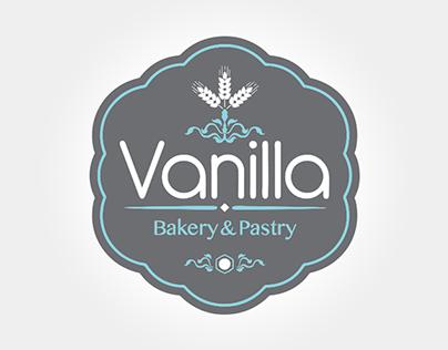 Vanila (bakery&pastry) branding