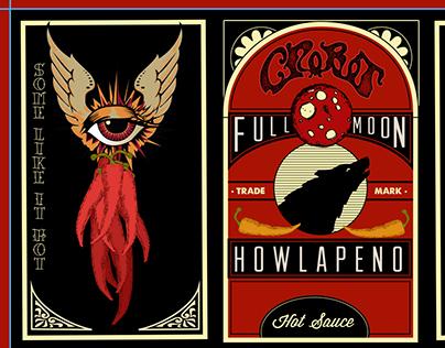 Full Moon Howlapeno Label