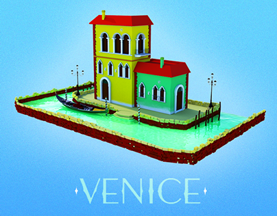 Venice: 3D Scene