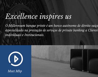 Banque Privée BCP Website