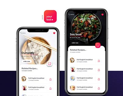Food App Concept Your Test