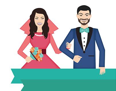 Wedding visual identity