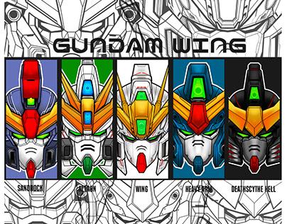 Gundam Wing HeadsCollection