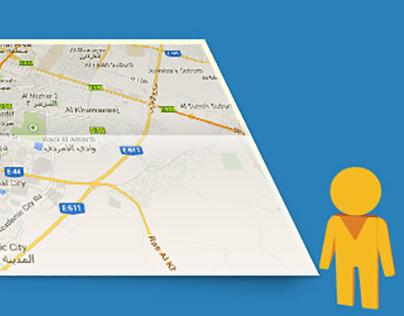 Explore Dubai With Google maps