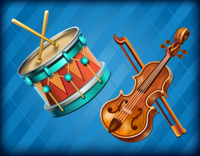 "Collections for social mobile music game ""Piano City"""