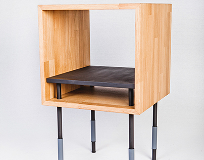 """My bed side table """"Cube"""""""