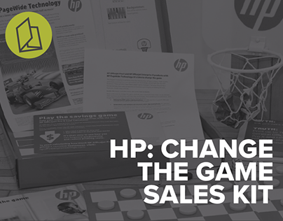 HP Change the Game: Sales Enablement Kit