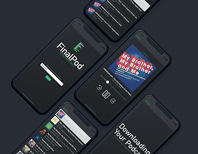 FinalPod: A Podcast App