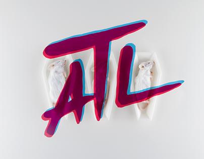 ATL #FCKSWG x За упокой mixtape cover artwork