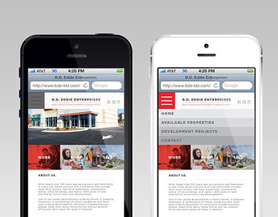 B.D. Eddie Enterprises Website