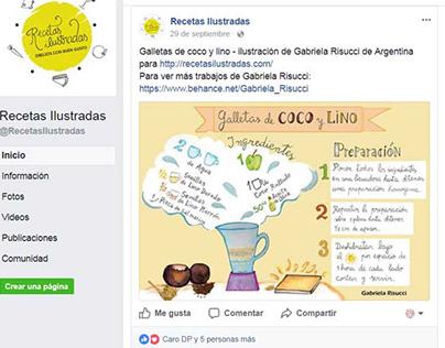 Recetas ilustradas / illustrated recipes