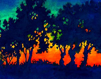 Painting Portfolio | Landscapes: 2012 - 2015