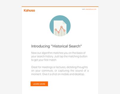 Email Templates for Kahuso.com