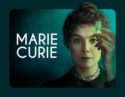 Marie Curie - Digital Ads