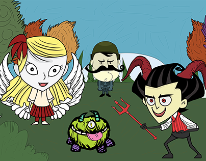 Don't Starve In A Different Universe